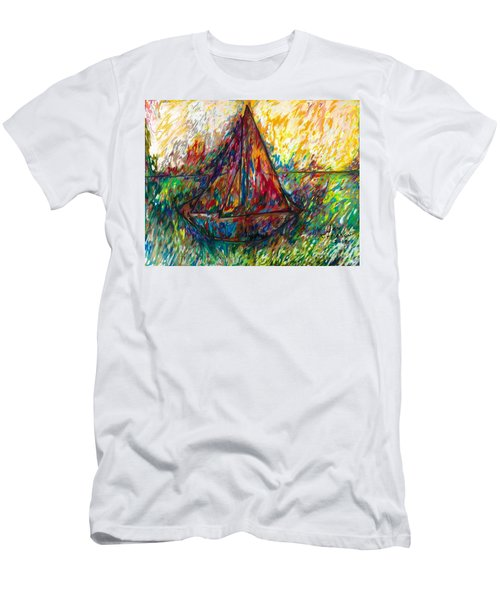 Ship In Color Men's T-Shirt (Athletic Fit)