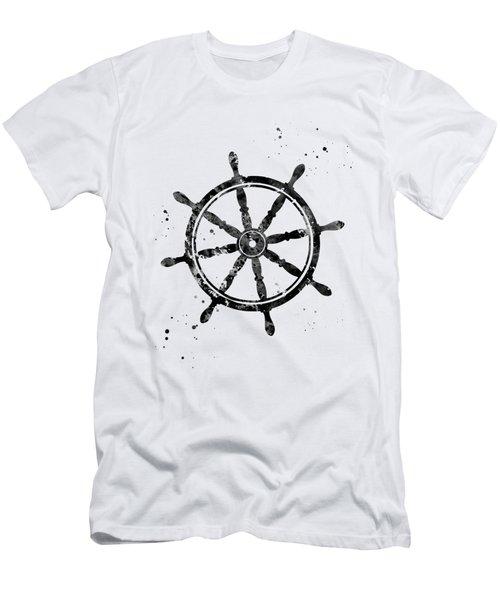 Ship's Wheel Men's T-Shirt (Athletic Fit)