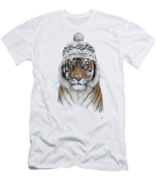 Siberian Tiger Men's T-Shirt (Athletic Fit)