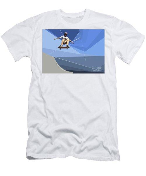 Skateboarder Men's T-Shirt (Athletic Fit)