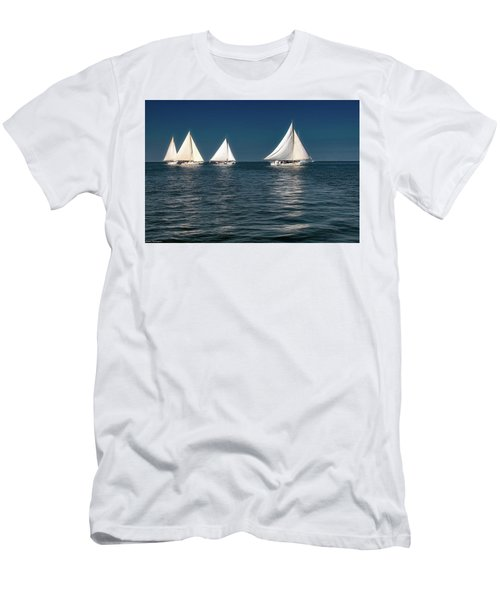 Skipjacks Racing  Men's T-Shirt (Athletic Fit)
