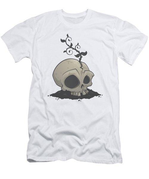 Skull Garden Men's T-Shirt (Athletic Fit)