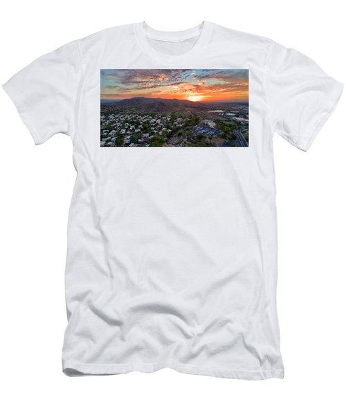 Sky Art Men's T-Shirt (Athletic Fit)