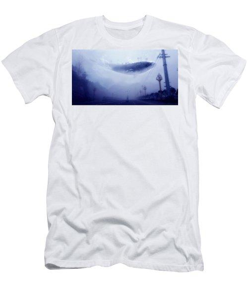 Sky Whale Men's T-Shirt (Athletic Fit)