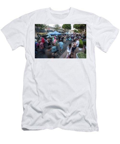 S L O   Farmers Market Men's T-Shirt (Athletic Fit)