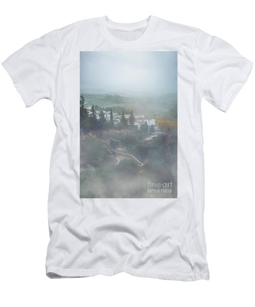 Slowly Reappearing Men's T-Shirt (Athletic Fit)