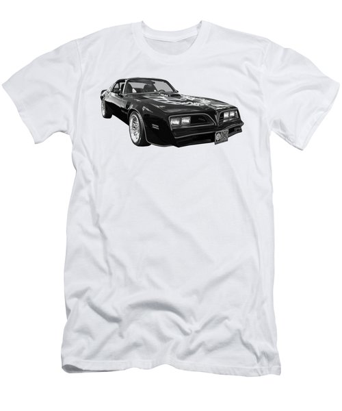Smokey And The Bandit Trans Am In Mono Men's T-Shirt (Athletic Fit)