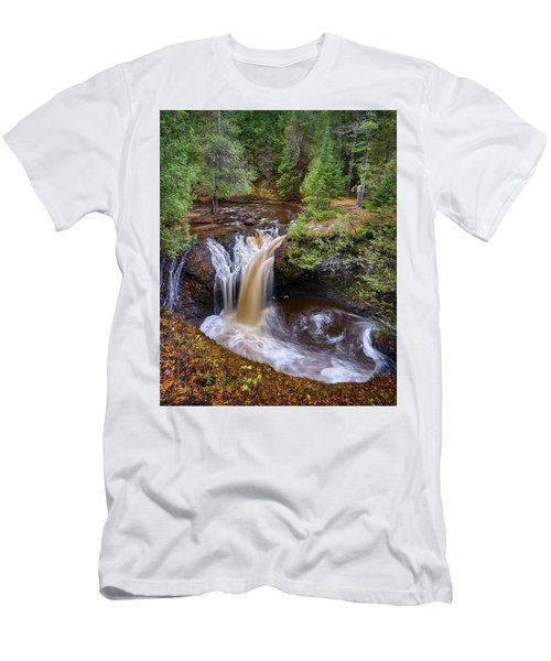 Snake Pit Falls Men's T-Shirt (Athletic Fit)