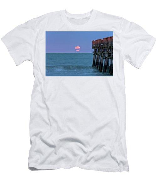 Snow Moon Men's T-Shirt (Athletic Fit)