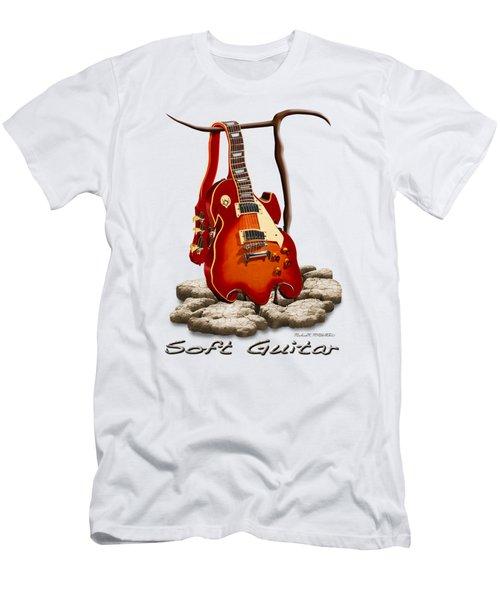 Soft Guitar - 3 Men's T-Shirt (Athletic Fit)