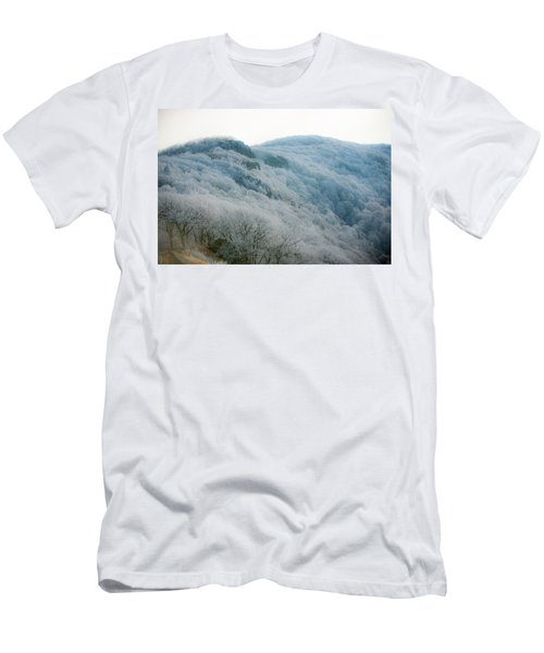 Soft Hoarfrost Men's T-Shirt (Athletic Fit)