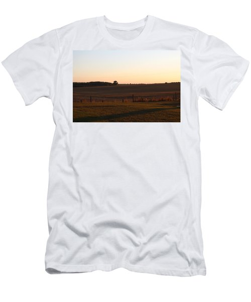 Somme Sunset Men's T-Shirt (Athletic Fit)