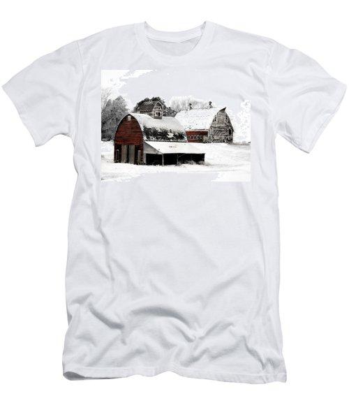 South Dakota Farm Men's T-Shirt (Athletic Fit)