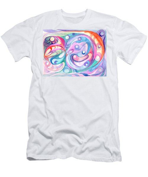 Space Abstract Men's T-Shirt (Athletic Fit)