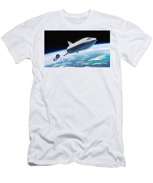 Spacex Bfr And Bfs  Men's T-Shirt (Athletic Fit)