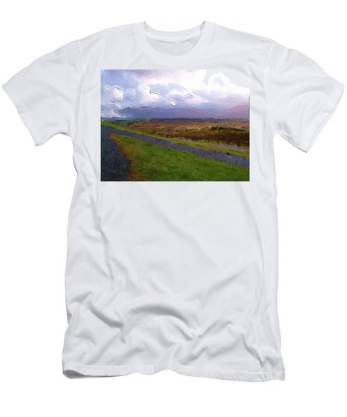 Spean Bridge Painting Men's T-Shirt (Athletic Fit)