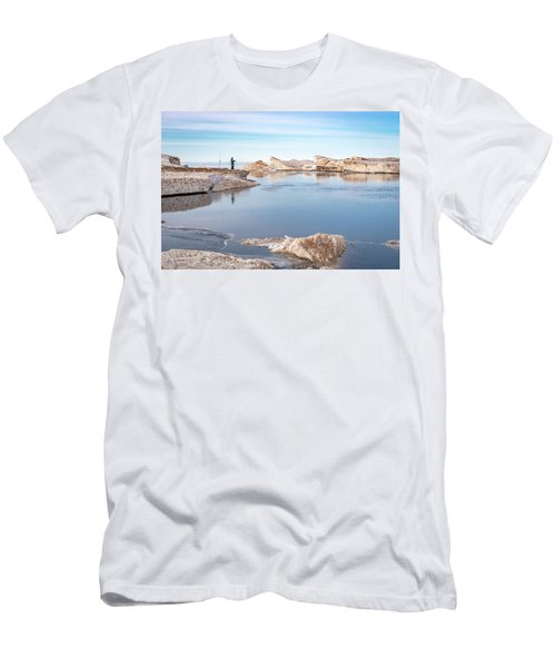 Spring Fishing Men's T-Shirt (Athletic Fit)