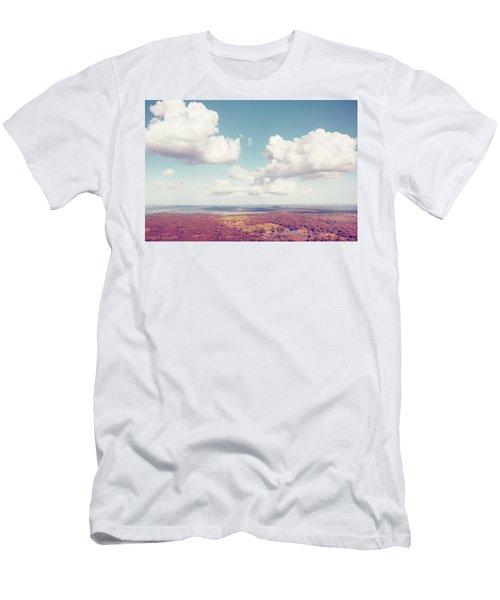 Sri Lankan Clouds In Pastel Men's T-Shirt (Athletic Fit)