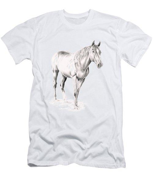 Standing Racehorse Men's T-Shirt (Athletic Fit)