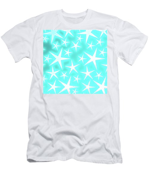 Star Burst 1 Men's T-Shirt (Athletic Fit)