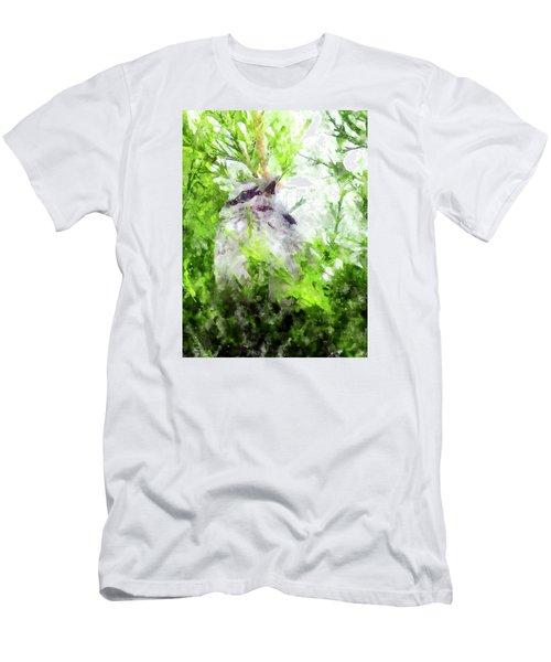 Men's T-Shirt (Athletic Fit) featuring the digital art Still So Much Life Ahead by Eduardo Jose Accorinti