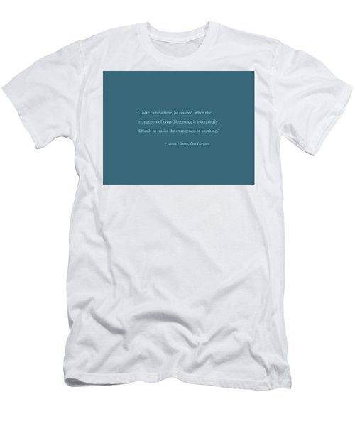 Strangeness Of Anything Men's T-Shirt (Athletic Fit)