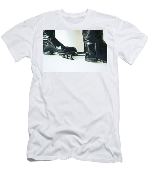 Studio. Boots And Boot Pull. Men's T-Shirt (Athletic Fit)