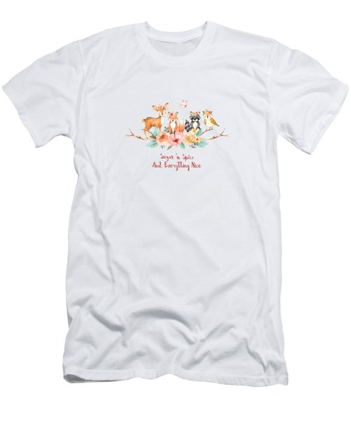 Sugar 'n Spice And Everything Nice Men's T-Shirt (Athletic Fit)