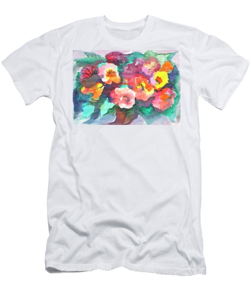 Summer Bouquet Men's T-Shirt (Athletic Fit)