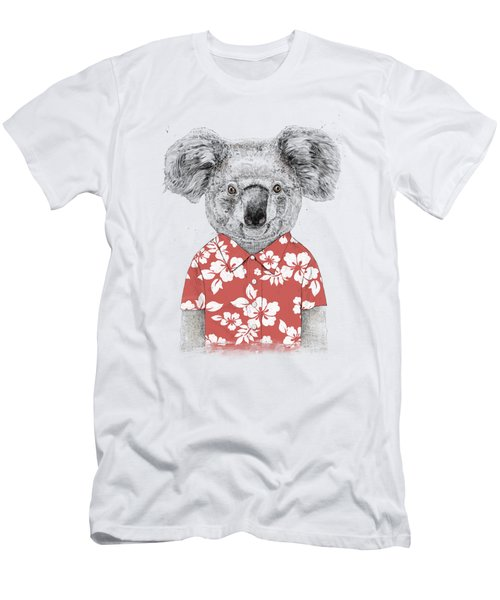 Summer Koala Men's T-Shirt (Athletic Fit)