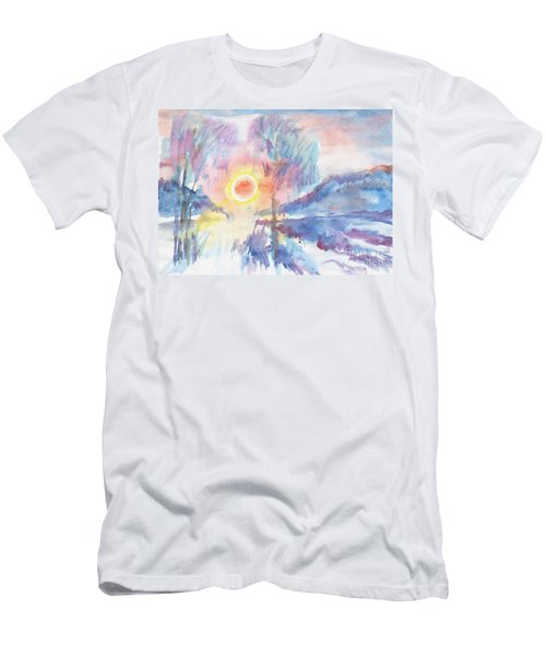 Sunny Winter Morning Men's T-Shirt (Athletic Fit)