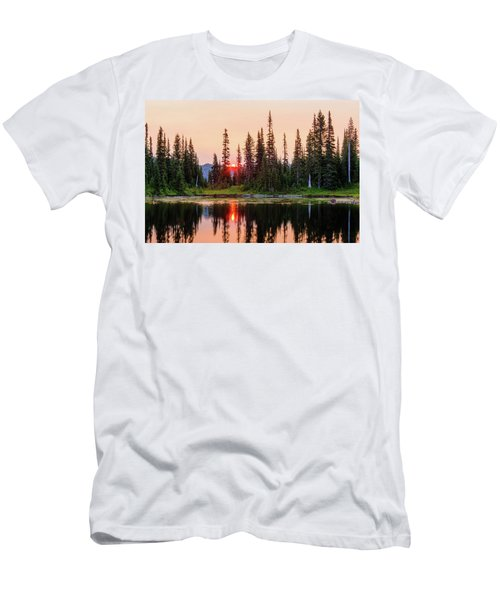 Sunrise From The Reflection Lake Men's T-Shirt (Athletic Fit)