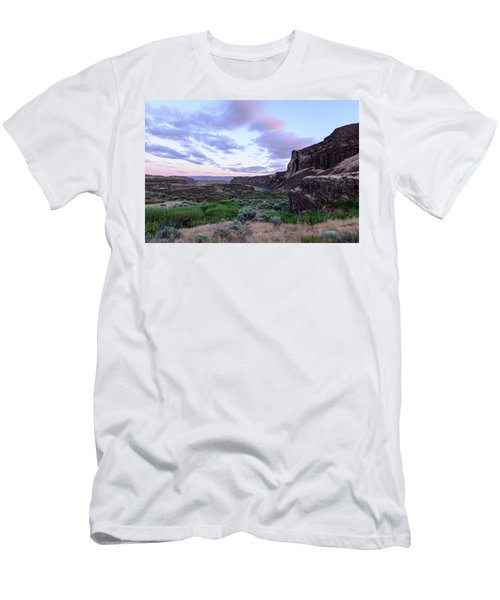 Sunrise In The Ancient Lakes Men's T-Shirt (Athletic Fit)