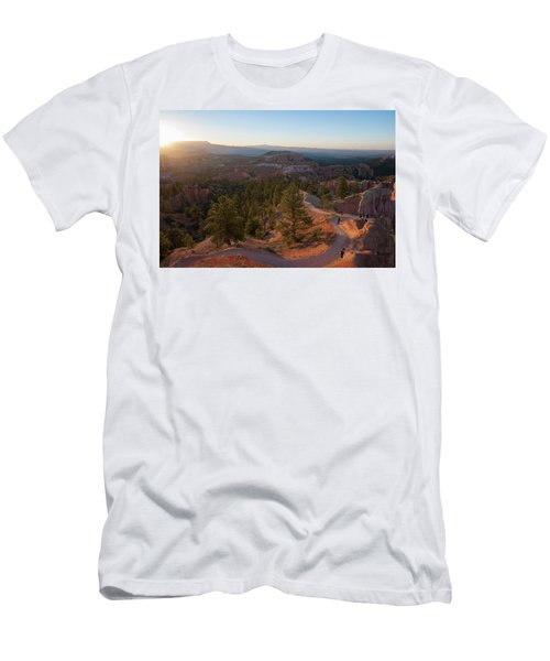 Sunrise Over Bryce Canyon Men's T-Shirt (Athletic Fit)