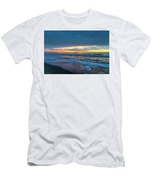 Sunset Fire Over Catalina Island 2 Men's T-Shirt (Athletic Fit)