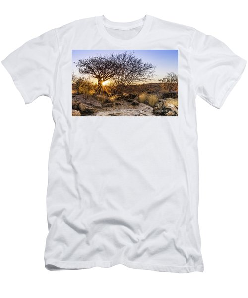 Sunset In The Erongo Bush Men's T-Shirt (Athletic Fit)