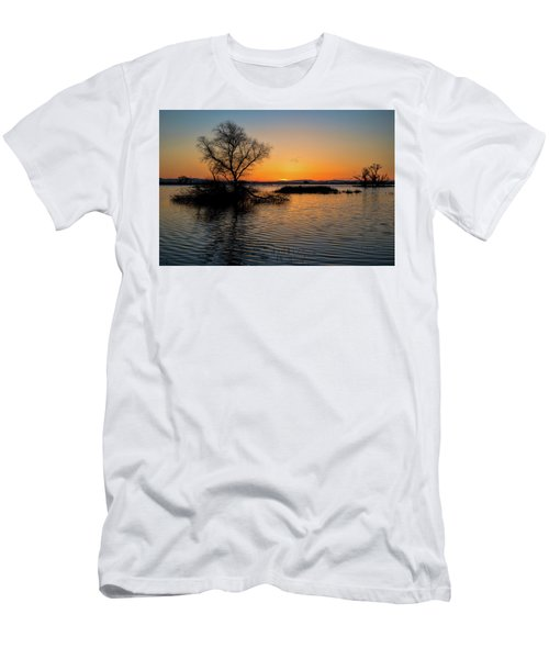 Sunset In The Refuge Men's T-Shirt (Athletic Fit)