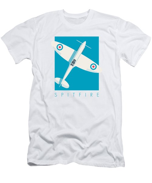 Supermarine Spitfire Wwii Raf Fighter Aircraft Men's T-Shirt (Athletic Fit)
