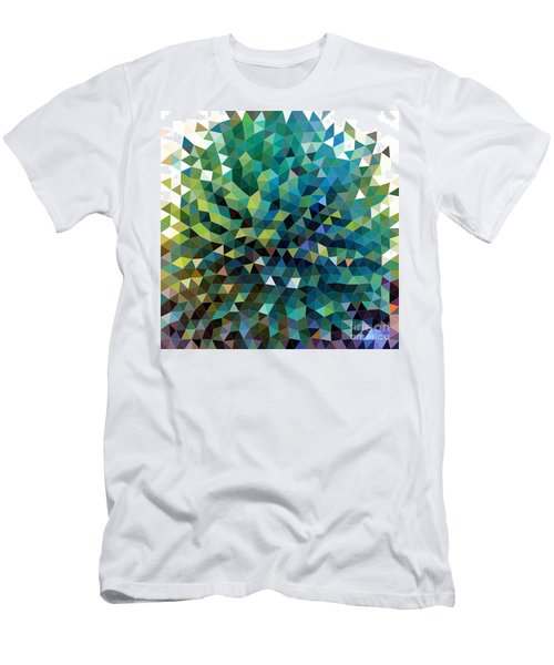Synchronicity Of Color Men's T-Shirt (Athletic Fit)