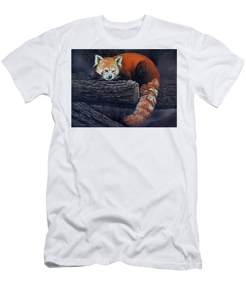 Takeo, The Red Panda Men's T-Shirt (Athletic Fit)