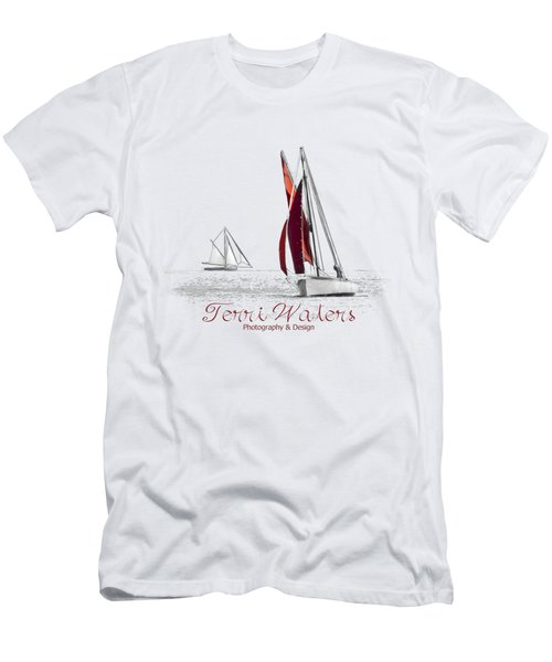Terri Waters Photography And Design Logo Men's T-Shirt (Athletic Fit)