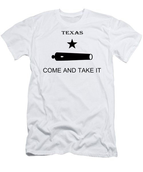 Texas Come And Take It Flag 1835 - T-shirt Men's T-Shirt (Athletic Fit)