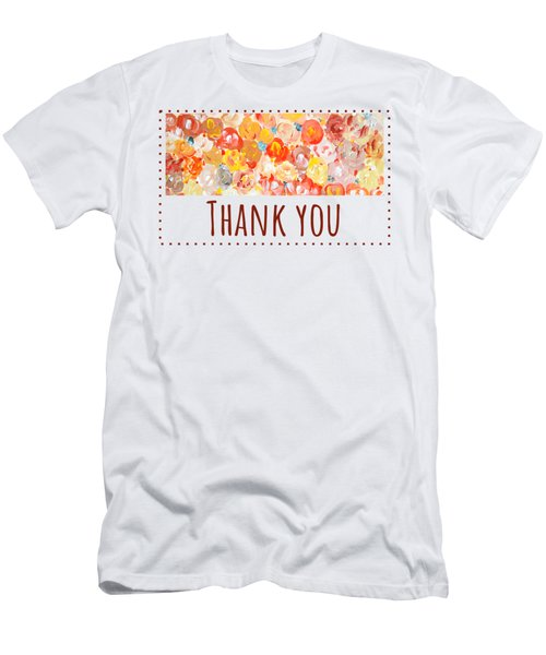 Thank You #2 Men's T-Shirt (Athletic Fit)