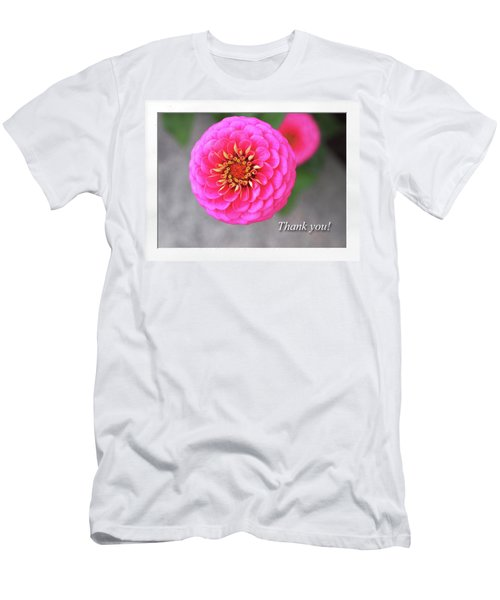 Thank You Men's T-Shirt (Athletic Fit)