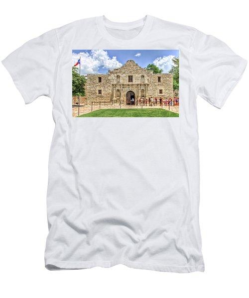 The Alamo, San Antonio Texas Men's T-Shirt (Athletic Fit)