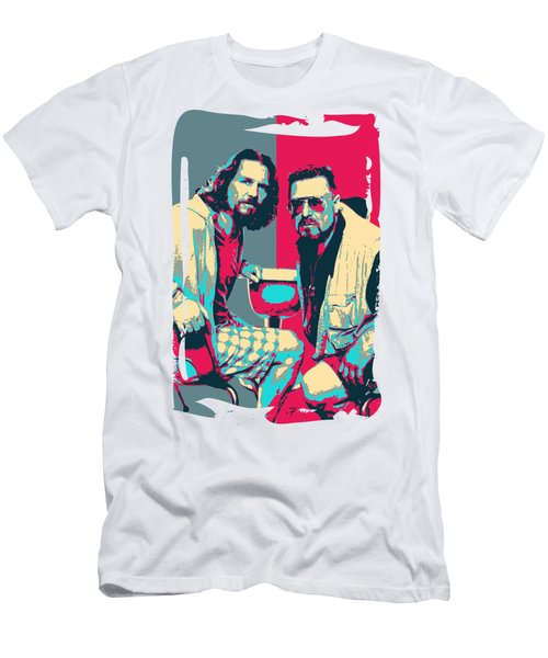 The Big Lebowski Revisited - The Dude And Walter No.2 Men's T-Shirt (Athletic Fit)