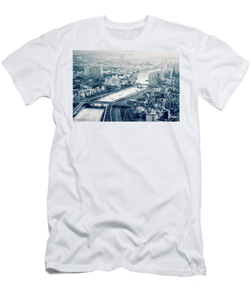 The Bisection Of Saigon Men's T-Shirt (Athletic Fit)