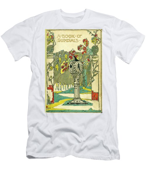 Cover Design For The Book Of Old Sundials Men's T-Shirt (Athletic Fit)