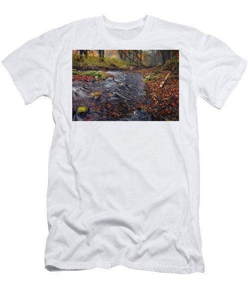 The Breath Of Autumn Men's T-Shirt (Athletic Fit)