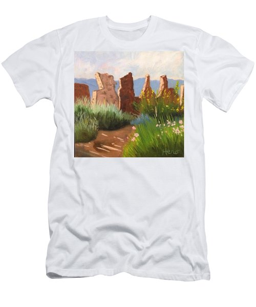 The Courtyard Men's T-Shirt (Athletic Fit)